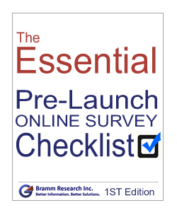 Essential pre launch online survey checklist